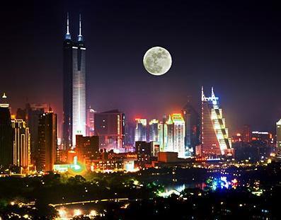 Chinese city-Shenjen