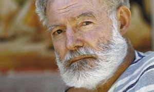 Was Hemingway a coward?