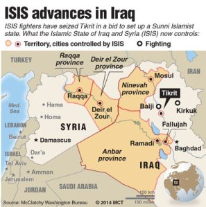 Islamic State-map