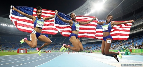 First People-hurdlers