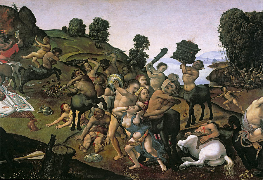 Fight-between-lapiths-andcentaurs
