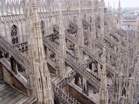 Duomo arches